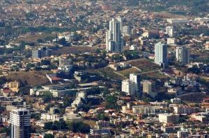 Tegucigalpa vista desde el Hatillo.